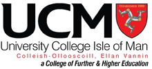 University College Isle of Man logo